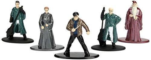 Jada Nano Metalfig Figuras de Harry Potter de pequeño tamaño, Paquete de 5 Unidades:Paquete de 2 Unidades (Harry… 5
