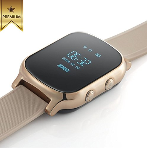 Promotional Price - Smart GPS tracker watch for Kids,Teenagers & Elders with GPS+LBS+WIFI positioning system and powerful 500 mAh battery.