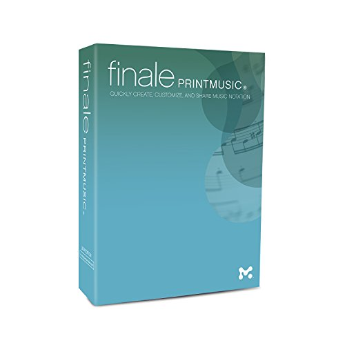 Finale PrintMusic 2014 DVD Box Version (PC)