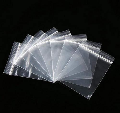 100PCS klären Ziplock Beutel 2.4x3.2 Zoll-wiederverwendbare Plastikklare Dichtungs-Taschen-kleine Polybeutel-wiederverschließbare Beutel Plastikbaggies für Süßigkeit und Nahrung