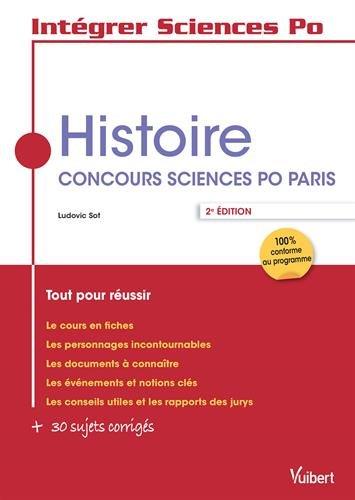 Histoire - Concours Sciences Po Paris - Tout pour réussir