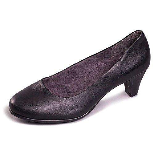 Aerosoles REDHOT Schwarze Schuhe Frau decollet Ferse Hautkomfort 37.5 Aerosoles Mary Janes