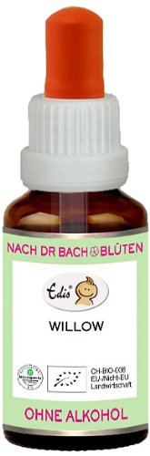Sunasar Edis Willow alkoholfrei 15ml (Bio Bachblüten), 1er Pack (1 x 15 ml)