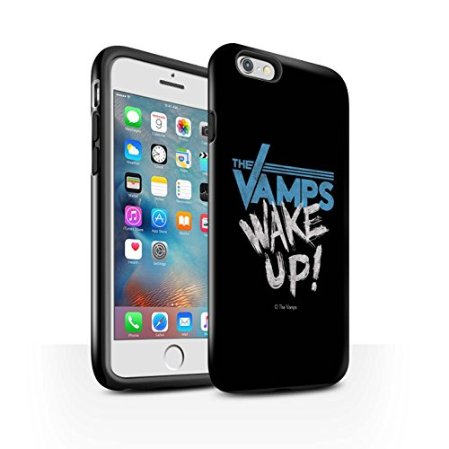 Offiziell The Vamps Hülle / Glanz Harten Stoßfest Case für Apple iPhone 6S+/Plus / Pack 6pcs Muster / The Vamps Graffiti Band Logo Kollektion Aufwachen!