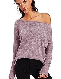 0ca6cbc06e Amazon.it: Viola - Pullover / Maglieria: Abbigliamento