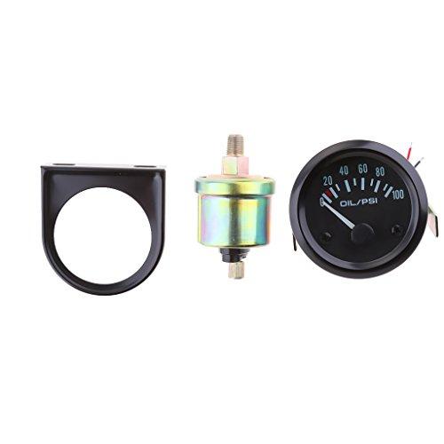 Manometro Pressione Olio Combustibile Tipo VDO Staffa Di Montaggio Kit Per Auto Camio