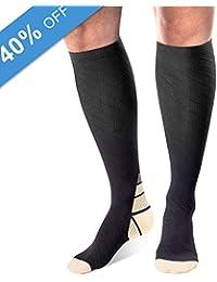 Arteesol Calcetines de Compresión, Medias Hombres y Mujeres 1 Par / 3 Pares de Calcetines