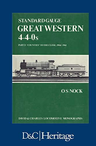 Used, Standard Gauge Great Western 4-4-0s Part 2: 'Counties' for sale  Delivered anywhere in UK