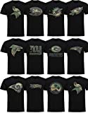New Era Los Angeles Rams T Shirt Camo Logo Tee Black - 4XL