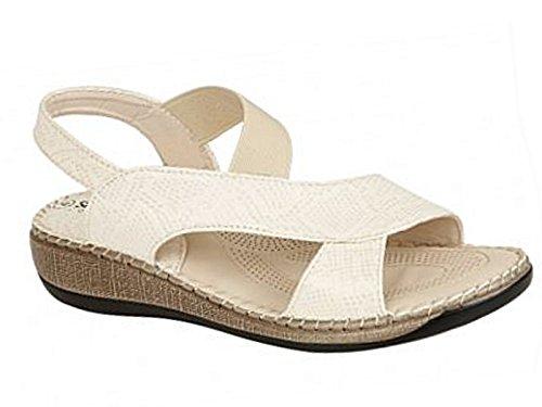 Foster Footwear , Damen Sandalen Cuba:Beige