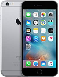 "Apple iPhone 6s Plus Single SIM 4G 16GB Grey - Smartphones (14 cm (5.5""), 16 GB, 12 MP, iOS, 10, Grey)"