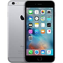 "Apple 6S Plus - Smartphone de 5.5"" (WiFi, Bluetooth 4.2, memoria interna de 16 GB, 2 GB de RAM, cámara trasera de 12 MP, iOS ) gris"