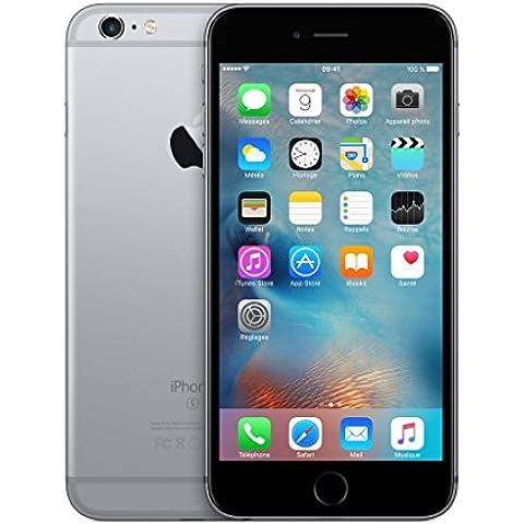 Apple iPhone 6s Plus 128GB 4G Gris - Smartphone (SIM única, iOS, NanoSIM, EDGE, GSM, DC-HSDPA, HSPA+, TD-SCDMA, UMTS,
