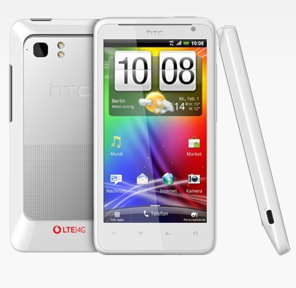 HTC HTC Velocity 3G 4G LTE - Vodafone weiß ohne Simlock, ohne Vertrag