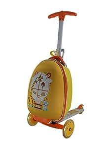 Purposefull-Monopattino per bambini per bambini a forma di valigia trolley Carry on-Monopattino