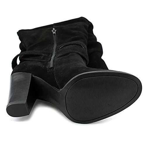 INC International Concepts Jordana Daim Botte Black