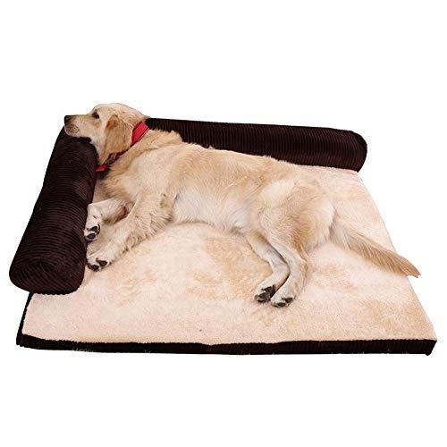 G-QBR Pet Decke, Tiere Selbst Heizung Haustier Pads Haustier Decke, mit Anti-Rutsch-Boden, maschinenwaschbar, Fleece Nesting Hund Cave Bett-Haustier-Katzen-Bett for kleine Hunde und Katzen ,einfach zu -