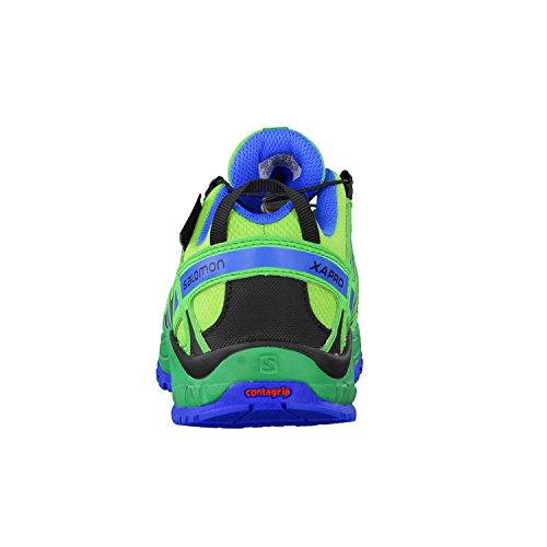 Salomon Unisex-kinder Xa Pro 3d Cswp Trekking- E Wanderhalbschuhe Tonic Green / Athletic Green / Union Blue