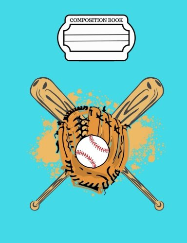Dreaming of Baseball, Composition Book, Wide Ruled: 101 sheets / 202 pages por SLO Treasures