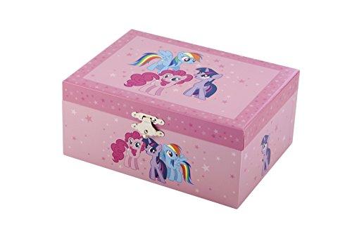Trousselier - My Little Pony - Grand Coffret Musical Rainbow Dash - Figurine Détachable