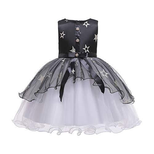 Dress Kostüm Fancy Klavier - Zhhlaixing Kleid Kinder Host Girl Hochzeit Klavier Kostüm Mädchen Abend Blume Geburtstag Prinzessin