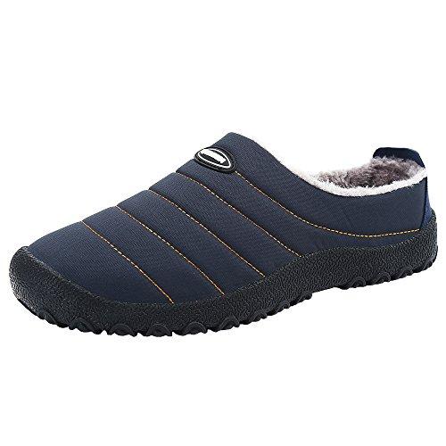 SPEEDEVE Zapatillas de estar por casa unisex azul talla 42
