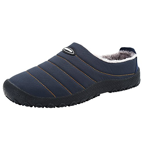 SPEEDEVE Zapatillas estar casa unisex azul