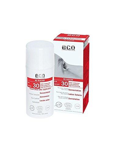 eco cosmetics Sonnenlotion LSF 30 \'No Biocide\' (bio, vegan, Naturkosmetik) Antimück