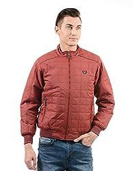 Monte Carlo Mens Cotton Jacket (217039578-1_Red_42)