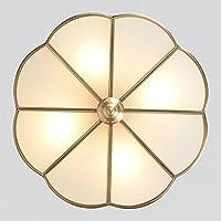 BBSLT Natale Continental, rame, lampade da soffitto, camera da letto, terrazza, ristorante (30*20cm)