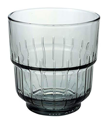 LinQ Rocks Tumbler/9.25oz 260 ml - Fall von 12 - DuraTuff Libbey Cocktail Tumbler - Whisky Gläser Libbey-whisky