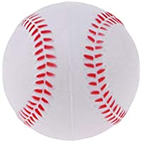 perfeclan Soft PU Training Baseball Softball Child Kids Team Game Jugar Bouncy Ball - Blanco