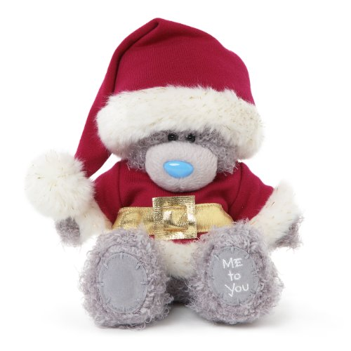 Me To You - Orsetto di peluche Tatty Teddy vestito da Babbo Natale, colore: Grigio