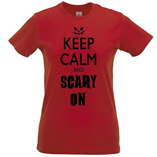 Behalten Sie Ruhe und Scary Auf Lustige Scary -