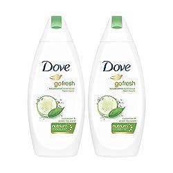 Dove Go Fresh Nourishing Body Wash, 190ml (Pack of 2)