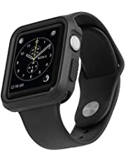 AT&T Rugged Sport Bumper Case for Apple Watch (Black)(AWRB-42)