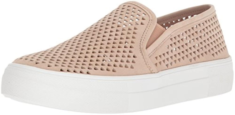 Steve Madden Wouomo Gills-P scarpe da ginnastica, Natural Suede, 10 M US | Per Vincere Una Ammirazione Alto  | Uomini/Donne Scarpa