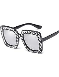 953350c42f Sunglasses Home Hombres Gafas de Sol Mujer Caja Gafas de Sol Dama de  imitación Diamante Gafas