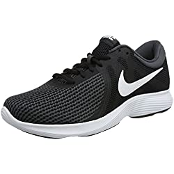 Nike Revolution 4 EU, Zapatillas de Running para Hombre, Negro (Black/White-Anthracite 001), 45 EU
