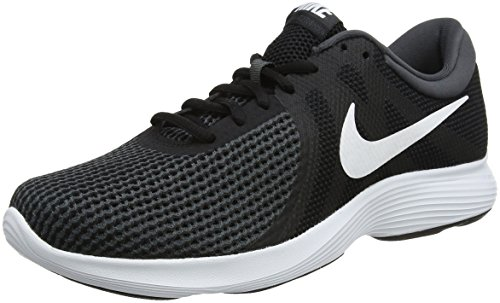 new style 56abc d6c87 Nike Revolution 4 EU, Zapatillas de Running para Hombre, Negro (Black White
