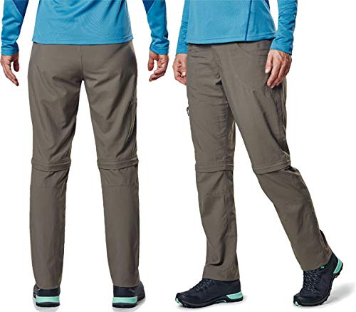 berghaus Navigator 2.0 Zip Off Pants Women Bungee Cord UK 12 = 38/31