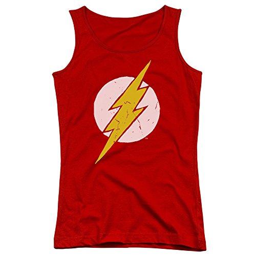 Rough Justice League Flash-Canottiera ragazzi rosso rosso