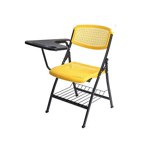 Kunststoff-Klappstühle Gepolsterte Sitze und Rückenlehnen Computer Büro Klappstühle aus Kunststoff Business Meeting Stuhl Portable Office Trainings Stühle im Freien Angeln Startseite Stühle Praktische