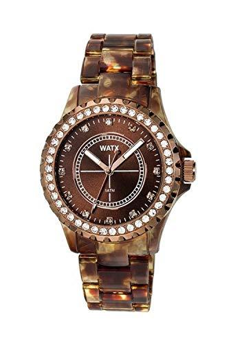 Watx Reloj Analógico para Mujeres de Cuarzo con Correa en Plástico RWA9017