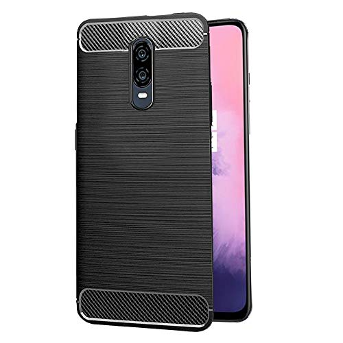 Amazon Brand – Solimo Protective Mobile Cover for OnePlus 7 (Black)