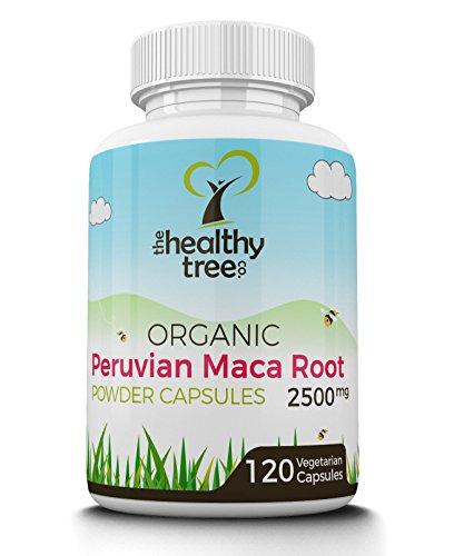 2500mg di polvere di Maca BIO in Capsule   Un Super Alimento di Qualità Premium, (Maca Zinco Vitamine)