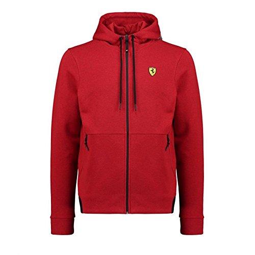 Scuderia Ferrari Herren Kapuzenjacke Zip-Hoodie Logo (XXL)