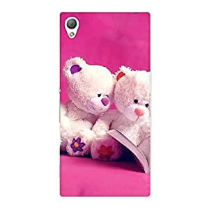 Gorgeous Twin Teddy Multicolor Back Case Cover for Sony Xperia Z3
