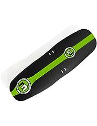Mucky Nutz Bender Face Fender XL - Guardabarros delantero para bicicleta de montaña, color negro y verde