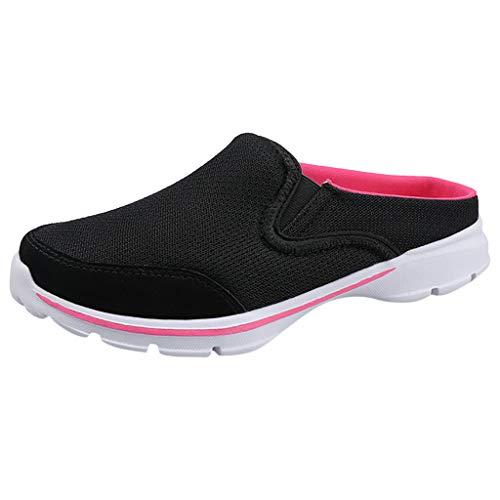 POLPqeD Scarpe Donna Sportive Leggere Sneaker da Ginnastica Senza Lacci Slip-On Outdoor Casual Shoe Scarpe Traspiranti A Rete Traspirante